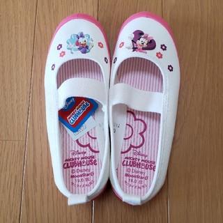ディズニー(Disney)の新品 ディズニー ミニー ディジー ピンク 上履き 上靴 バレーシューズ(スクールシューズ/上履き)