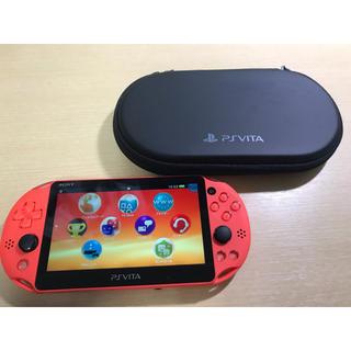 プレイステーションヴィータ(PlayStation Vita)のPlayStation Vita ネオンオレンジ(携帯用ゲーム本体)