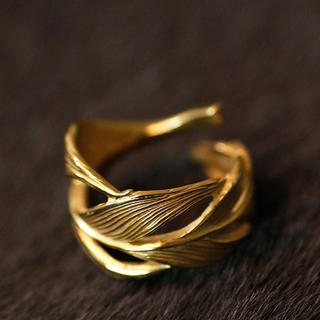 ハリム(HARIM)のHARIM リング K18 コーティング(リング(指輪))