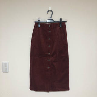 GU - コーデュロイタイトスカート GU