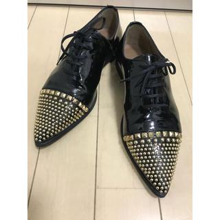 PERTINI レースアップシューズ(ローファー/革靴)