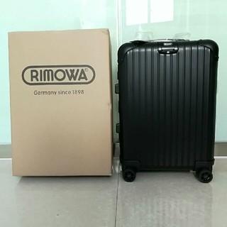 リモワ(RIMOWA)のRIMOWA リモワ スーツケース トロリーケース 4輪 32L 黒ブラック(トラベルバッグ/スーツケース)