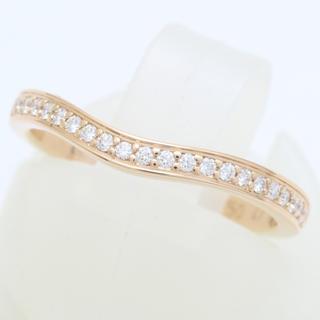 カルティエ(Cartier)のカルティエ バレリーナ ハーフエタニティ リング PG(リング(指輪))