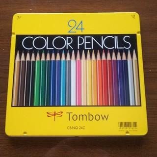 トンボエンピツ(トンボ鉛筆)のトンボ色鉛筆24色(色鉛筆 )