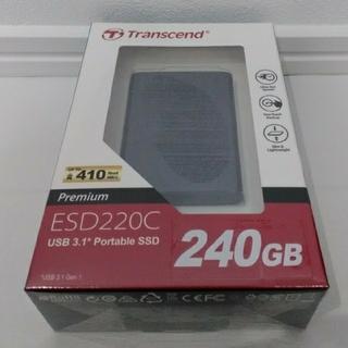 トランセンド(Transcend)のPortable SSD(PC周辺機器)