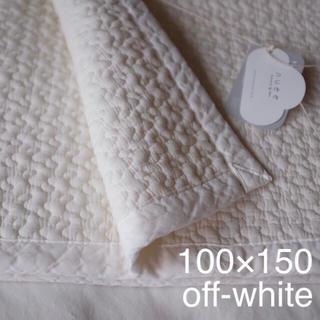 イブル  クラウド柄 100×150 オフホワイト