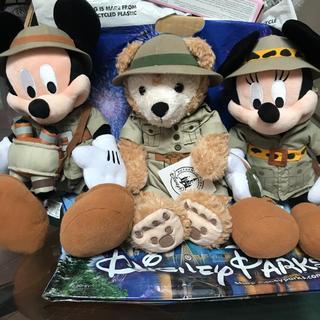 Disney - 新品 WDW  アニマルキングダム サファリ ダッフィー ミッキー  ミニー