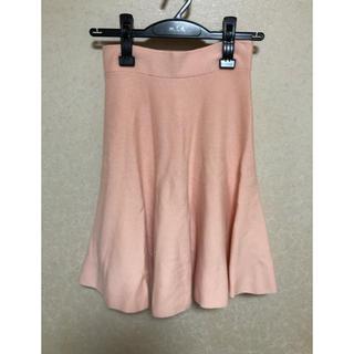 アンドクチュール(And Couture)のアンドクチュール/And Couture  ニットスカート 着用数回の美品(ひざ丈スカート)