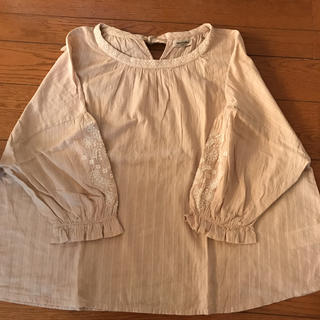 SM2 -  SM2  袖刺繍ブラウス