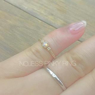 ノジェス(NOJESS)のNOJESS オパールピンキーリング(リング(指輪))