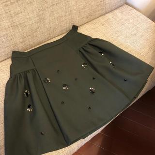 チェスティ(Chesty)のチェスティ ビジュースカート(ひざ丈スカート)