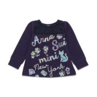 アナスイミニ(ANNA SUI mini)の新品 アナスイミニ 猫♡薄手トレーナー(Tシャツ/カットソー)