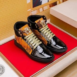 ヴェルサーチ(VERSACE)のヴェルサーチ VERSACE デッキシューズ シューズ 靴 カジュアルシューズ(デッキシューズ)