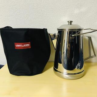 ユニフレーム(UNIFLAME)のキャンプケトル キャンプケース収納ケース(調理器具)