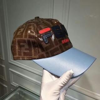 フェンディ(FENDI)のFENDI キャップ 帽子 野球帽 ロゴ 男女兼用(キャップ)