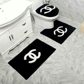 シャネル(CHANEL)の新しい! 未使用の家庭用バスルームマットセット (バスマット)