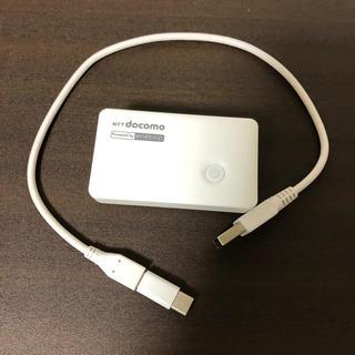 NTTdocomo - スマートフォン用ポケット充電器