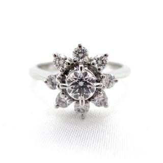 ミキモト(MIKIMOTO)のミキモト MIKIMOTO ダイヤモンド 5号 リング PT950 新品仕上げ(リング(指輪))