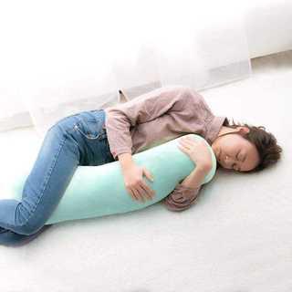 【新生活応援】もちもち 抱き枕グリーン(枕)