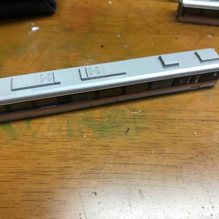 カトー(KATO`)のNゲージ KATO キハ85 6 ボディーのみ ホロ片方なし(鉄道模型)