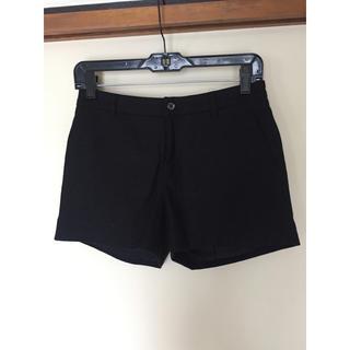 ダブルスタンダードクロージング(DOUBLE STANDARD CLOTHING)のダブルスタンダードクロージング ウール ショートパンツ 黒(ショートパンツ)