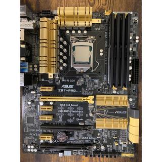 INTEL corei7 4770kセット(PCパーツ)