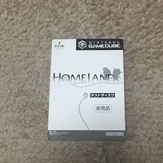 ニンテンドーゲームキューブ(ニンテンドーゲームキューブ)のゲームキューブ ホームランド テストディスク GC 非売品(家庭用ゲームソフト)