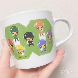 カンジャニエイト(関ジャニ∞)のエイトレンジャー マグカップ(アイドルグッズ)