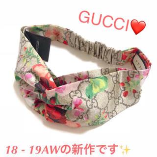 Gucci - ✨GUCCI グッチ 18ss 19ss✨新作✨GG ブルームス ヘアバンド✨