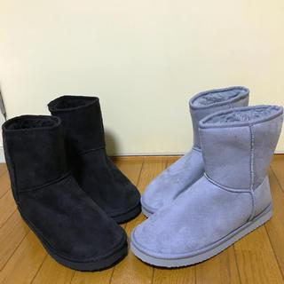 ジーユー(GU)のムートンブーツ2色セット(ブーツ)