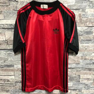 アディダス(adidas)の希少アディダスadidas Tシャツゲームシャツサッカーシャツ古着(Tシャツ/カットソー(半袖/袖なし))