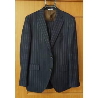 セレクト(SELECT)の【新品セール】スーツセレクトAB5紺色ストライプ(セットアップ)