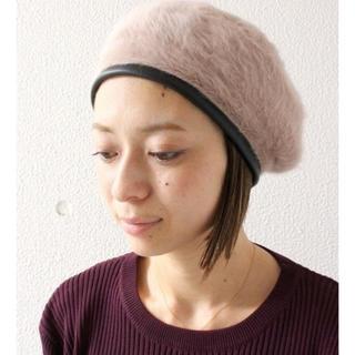 ザラ(ZARA)の新品未開封 ottilie パイピングシャギーベレー帽(ハンチング/ベレー帽)