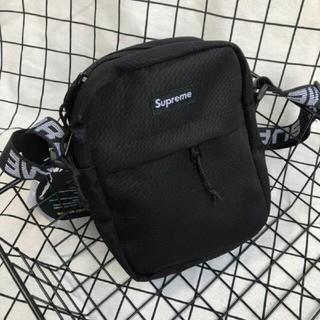 シュプリーム(Supreme)のSupreme 18ss Shoulder Bag 黒 納品書付き(ショルダーバッグ)
