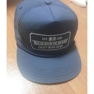 NEIGHBORHOOD - ネイバーフッド キャップ 売り切り値段