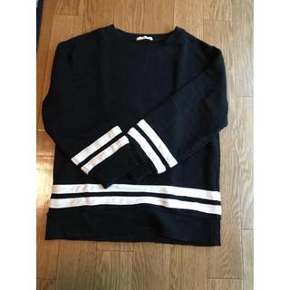 ジーユー(GU)のシンプル トレーナー(Tシャツ/カットソー)