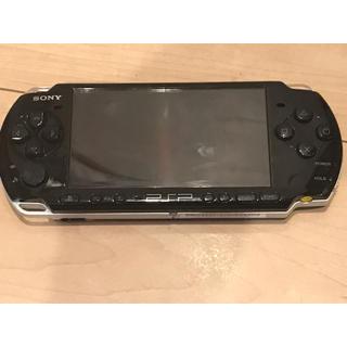 プレイステーションポータブル(PlayStation Portable)の動作良好 PSP3000 ピアノブラック バッテリーなし(携帯用ゲーム本体)