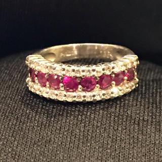 ダイヤモンド&ルビー ピンキーリング(リング(指輪))