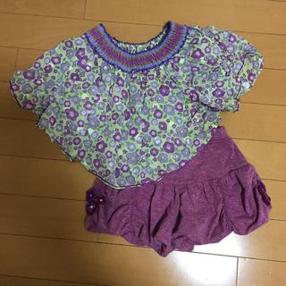 アナスイミニ(ANNA SUI mini)のアナスイミニ  チュニック パンツ セット 90(Tシャツ/カットソー)