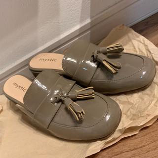 ミスティック(mystic)のmystic タッセルローファーミュール(ローファー/革靴)