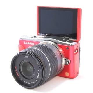 パナソニック(Panasonic)の◆Wi-Fi搭載◆自撮り対応&高画質1600万画素◆パナソニック GF6 (ミラーレス一眼)
