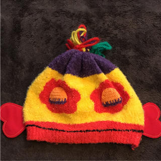 スーパーブーホームズ(SUPER BOO HOMES)のBOO HOMES キッズニット帽子(その他)
