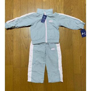 ナイキ(NIKE)の新品未使用 ナイキ 子供服ジャージ フード付き上下 グレーピンク(その他)