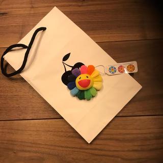 送料無料 フラワー 村上隆 お花ストラップ キーホルダー マルチカラー (キャラクターグッズ)