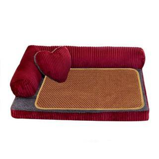 ペット ソファー クッション Mサイズ 安眠 ベッド 犬 猫   マット