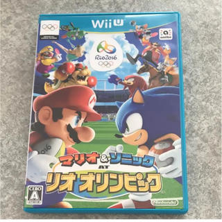 ウィーユー(Wii U)のマリオ&ソニック  リオオリンピック(家庭用ゲームソフト)