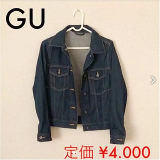 ジーユー(GU)のデニムGジャケット 定価4000円♡(Gジャン/デニムジャケット)