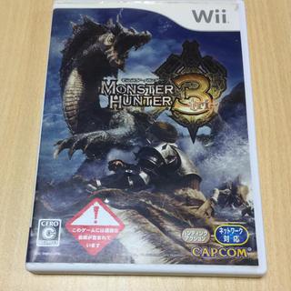 ウィー(Wii)のWiiソフト モンスターハンター3(家庭用ゲームソフト)