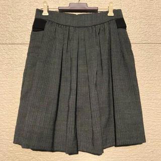 スリーワンフィリップリム(3.1 Phillip Lim)の美品 3.1 phillip lim スカート 黒 白 グレー 2(ひざ丈スカート)