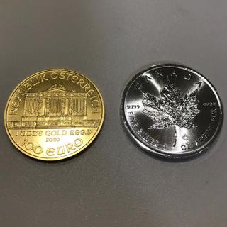 純金金貨 純銀銀貨 1オンス